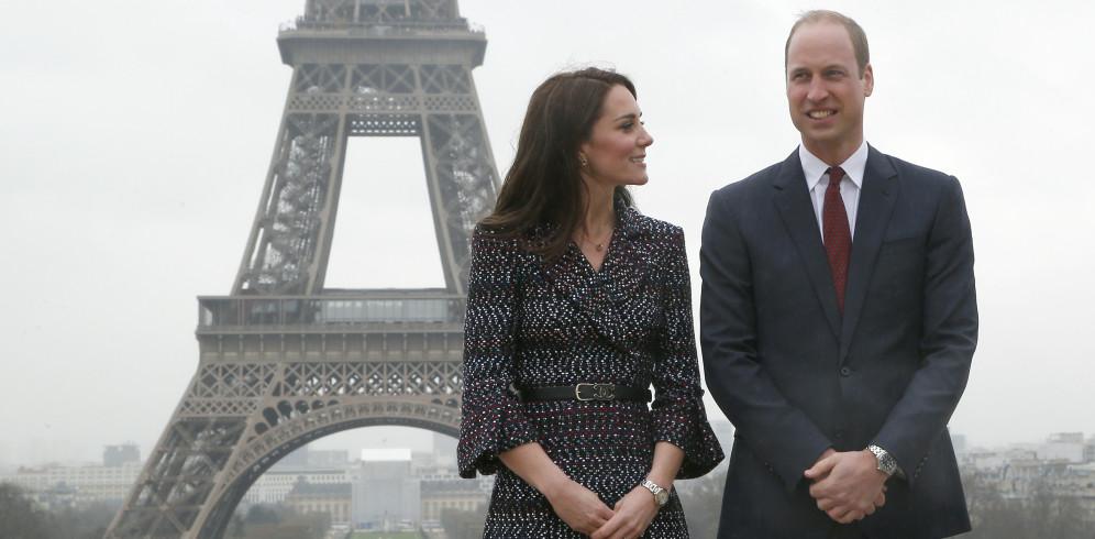 El tour parisino de Guillermo y Kate en diez imágenes inolvidables