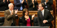 Foto de Todo tiene un límite o la entrada triunfal de Rajoy en el Congreso
