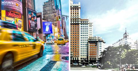 Foto de Riu saca pecho: Nos gustaría convertir el Edificio España en el Times Square español